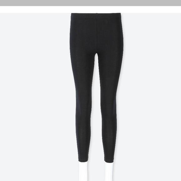 fd73149442350 Uniqlo Pants   Black Leggings   Poshmark
